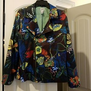 Chicos jacket the colors are beautiful...never won
